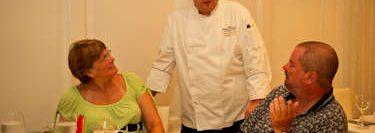 Chef at Jazz Restaurant.