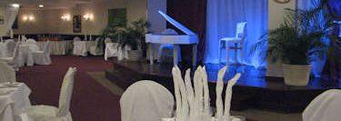 Johnnys Restaurant Stage.